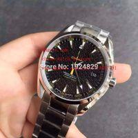 aqua factory - Luxury High Quality KW Factory Maker Black mm Aqua Terra James Bond Swiss Movement Automatic Mens Watch Watches