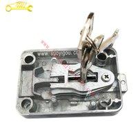 safe deposit box - 2016 HOT Transparent Safety Deposit Box Blade Lock Safe Lock Cabinet Lock Lockbox High Quality Mechanical Anti theft Lock Blade