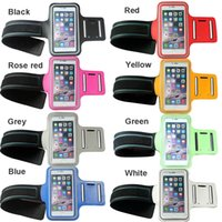 Wholesale stock neoprene Sports Gym Running Jogging Arm band Case for Smartphone