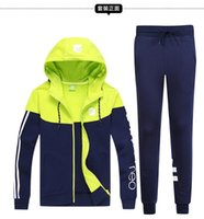 apparel suits - 2016 HOT sellilng hoody AD sports tracksuit superstar suits sports jacket sports pants sports apparel warm winte tracksuits