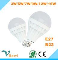 cheap light bulbs - LED lights High Quality W W W W W W LED Bulbs Energy Saving Light E27 Base Globe Light Bulb Cheap Lightings Lamps V