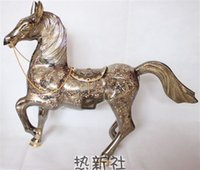 Wholesale Pakistan imported bronze birthday gift business gifts horse animal equipment