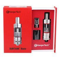 Wholesale Kanger Subtank Nano Atomizer ml Subtank Mini V2 ml Toptank Mini ml Tank Clearomizer OCC Coil Good Quality