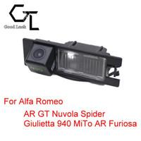 alfa romeo giulietta - For Alfa Romeo AR GT Nuvola Spider Giulietta MiTo AR Furiosa Wireless HD CCD Rearview Camera Parking Camera Car Camera