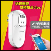 Wholesale Orvibo Wifi Smart power plug S20 EU US UK AU Standard Wireless Control Smart Power Plug Home Automation App for Andoid Ios Smartphone