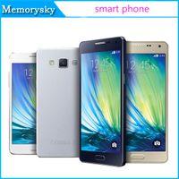 Bon Marché Logos sim-A5 A5000 MTk6582 Quad Core show 3G 16G Android 5.1 téléphone portable 3G WCDMA peut montrer 4g lte avec le logo Sealed Box