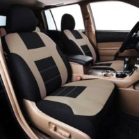 Wholesale Front Rear Beige Universal Lada Priora Car Seat Cover Interior Accessories Seat Car covers Upholstery Protector Fit Truck SUVs