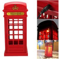 adjustable halogen desk lamp - USB Rechargeable Touch Telephone Booth LED Light Desk Lamp Adjustable Lighting