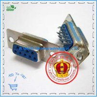 Wholesale Double pin DB9 female serial wire type female hole straight leg RS232 DB9 conQuality Assurancetor