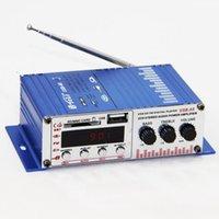 Wholesale Hi Fi Stereo Audio Car Motorcycle Amplifier USB SD MMC CARD MP3 Digital Play DC12V