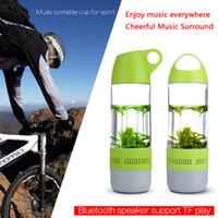 aire plastics - Teléfonos de la tarjeta soporte de la botella brújula TF impermeable reproductor de música MP3 Altavoz Bluetooth para deportes al aire libre