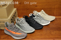 Wholesale with Box Y v1 Boost Pirate Black Moonrock Oxford Tan Turtle Dove Basketball Shoes Boost Running Shoes Sneaker36