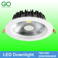 Wholesale LED Ceiling Downlight Dimmable Non dimmable W W W W W Recessed Spot Light V V V V V Decoration Wall Down Lights