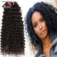 Wholesale 7a Brazilian Virgin Hair Kinky Curly Bundles Curly Brazilian Hair Human Hair Weave Natural Color Brazilian Kinky Curly Virgin Hair