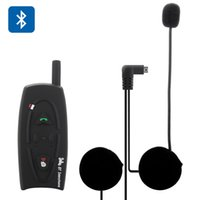 Wholesale 500M Interphone Motorcycle Bluetooth Headset Communication Intercom User Support Music Call