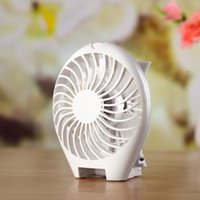Wholesale Portable Mini Mute Cooling Fan USB Operated Speed Modes Summer Travel Desk Fan Air Cleaning Cooling Battery Operated For Indoor Outdoor K