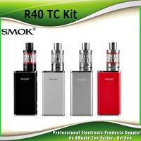 basic box - Original Smok R40 TC Kit with R40 TC Box Mod w mah Micro Basic Tank ml genuine smoktech R40 kit