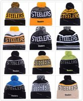 bamboo fields - Heather Gray Football Pittsburgh Beanies Winter High Quality Steelers Red Beanie For Men Skull Caps Skullies Knit Cotton Hats On Field