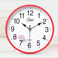 Wholesale New Arrival Modern Design Candy Color Fashion Round Modern Home Bedroom Time Kitchen Wall Clock Quartz with Colors