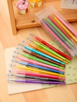 Wholesale Color color diamond pen student neutral pen test pencil diamond neutral pen