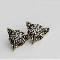 america fox - earbobs new Europe and America fashion jewellry for women earrings fox earrings fox jewelry price