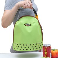 Wholesale Picnic Protable Ice Bags Oxford Hand Carry Thickened Cooler Bags Colors Lunch Bag Food Thermal Organizer cooler bag