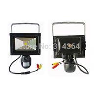 Wholesale 10W Flood Fight P Motion Camera Mini DVR Security Camera For Home Video Recorder PIR Garden Cam Light