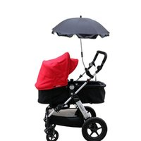 Wholesale Sun Umbrella for Baby Stroller Portable Folding Removable Sunshade Umbrella for Pushchair Pram Parasol for Infant Sun Protection