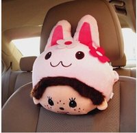 Wholesale nterior Accessories Seat Covers Accessories Real New Arrival Kia Ceed Car Covers Popular Lovey Cartoon Neck Pillow Head Rest Free Sh