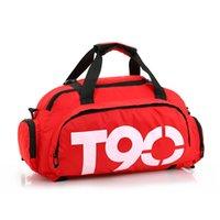 Wholesale 2016 Manufacturers sale Travel bag Fitness Men s Bags Back Shoulder Bags handbag white black red blue