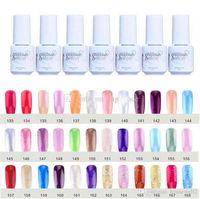 1 1 1 Removable UV Phototherapy Long-lasting Nail Art Gel Nail Polish 168 Colors Gelpolish 5ml Women Nail Accessories Varnish Free Shipping