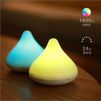 audio chocolate - HOT Chocolate wireless Bluetooth speaker creative million color touch control gravity induction speaker