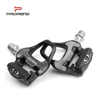 Wholesale Hot Selling PROMEND Cycling Pedal Road Bicycle Bike Self locking Ball Bearing Pedal With Pedal Cleat