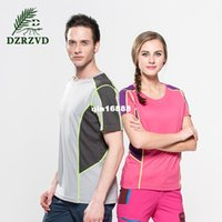 Wholesale Real L Xl Xxl Time limited Hair Loss Speed Dry T shirt Male Wicking Female Lovers of Outdoor Sports And Leisure Short Sleeved Clothes