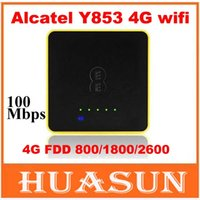 alcatel routers - DHL EMS G Wifi Router Alcatel One Touch Y853 G Mobile Hotspot with sim card slot