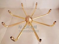 Wholesale 1 inch Zygocactus nozzle rotating nozzle water windmill nozzle fountain landscape full of brass materials