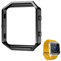 Wholesale New Fitbit blaze Replacement Frame Stainless Steel Metal Watch Holder Shell For Fitbit Blaze Smart Watch