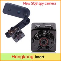 Wholesale HD SQ8 Sport Mini Camera DV Voice Video Recorder Infrared Night Vision Digital Small Cam camcorder