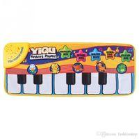 best keyboard design - Latest Design for Newborn Baby Music Mat Touch Play Keyboard Musical Music Singing Gym Carpet Mat Best Kids Baby Gift