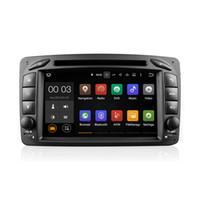 Android 5.1 Lecteur de DVD de voiture GPS Quad Core pour Mercedes-Benz C-Class W203 S203 C209 W209 Avec Wifi 3G Bluetooth EX-TV CanBus