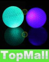 Wholesale LAI S1M Fashion Sports Flashing Electronic Golf Balls Pack Night Golfing Blue Green