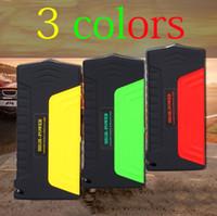 Wholesale Car Jump Starter mAh colors Car External Battery Charger Power Bank Laptop V V V Auto Start Emergency