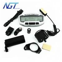 bicycle speed meter - Top Quality Bike Speed meter bicycle accessories cycle Computer bicycle computer Velometer Chronograph Backlight New Guy Steps