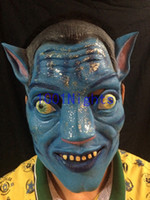 avatar film - Avatar Movie mask Film mask Halloween carnival Mask Celebrities mask Party mask Ball mask latex Tricky mask full face mask