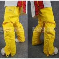 Wholesale The new unisex couples snowboarding pants Men s single and double plate ski pants waterproof and