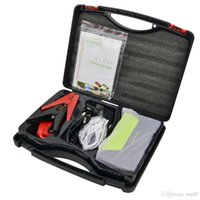 Wholesale Mini Portable V Car Jump Starter Mini Car Battery Engine Starter Booster Emergency Power Bank Battery Source Pack Charger DHL Free