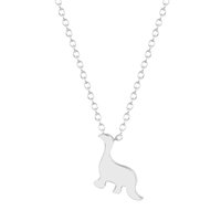 beautiful origin - 1pcs New Creative Beautiful Origin of Dinosaur Charm Necklace Pendant Collares Fashion Jewelry Gift for Girls and Women