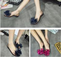 big girls heels - Girls Elegant Sandals with Big Bow Princess Beach Shoe Seaside Shoe Causal Leisure Falt Sandals Transparent Jelly Shoe for Women Lady Girl
