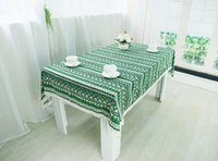 Wholesale Chinoiserie national style Table Cloth Colors Vintage Printing Table Factory Price cm Tablecloth for Home Decor