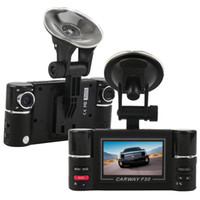 Wholesale car dvd F30 quot HD Dual Lens Car DVR Car Camera Dual cam Night Vision Vehicle Black Box Driving Camcorder Video Recorder for Parking